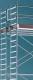 Uni Standard Gerüst im Doppelaufbau Arbeitshöhe 4,40 m